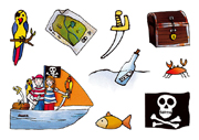 Grätz - Tattoos Pirat Paul