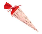 Krima & Isa - kleine Schultüte rosa Tupfen