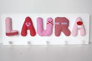 Garderobe Laura rosa/rot