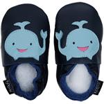 Bobux Babyschuhe dunkelblau Wal