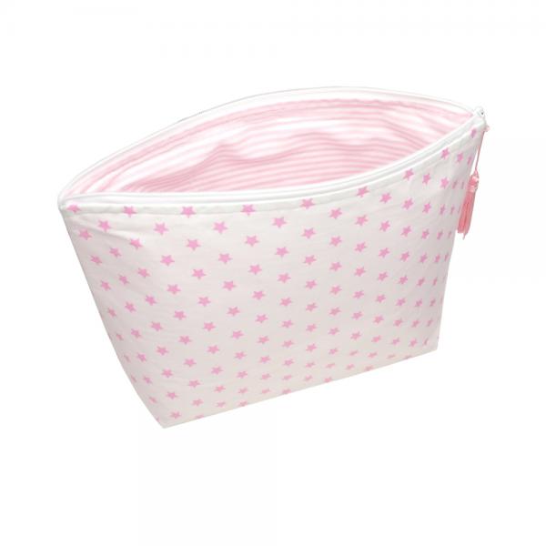 Sugarapple - Windeltasche Sterne rosa
