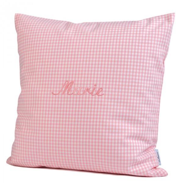 lakaro - Kissen rosa mit Namen