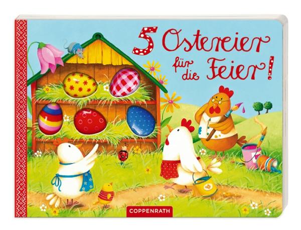Buch 5 Ostereier für die Feier