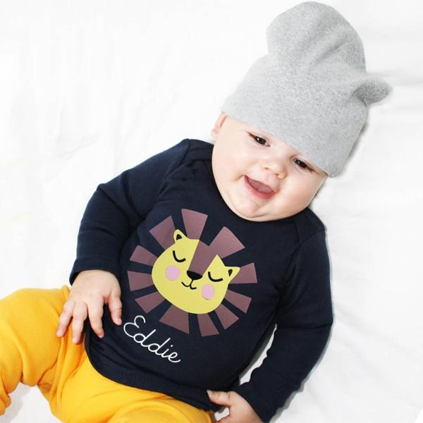 T-Shirt Löwe mit Namen