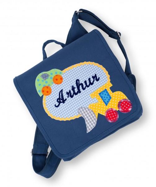Kindergartentasche navy Arthur Bagger