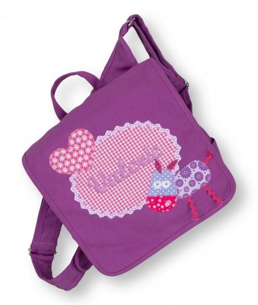 Kindergartentasche lila Valerie Esel