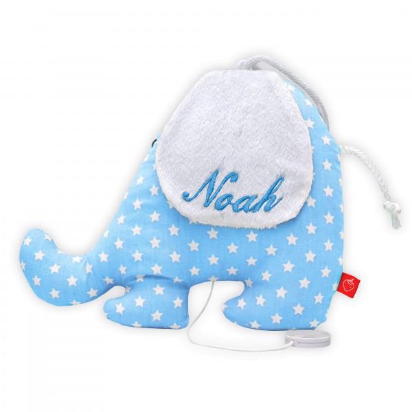 La Fraise Rouge - Spieluhr Elefant Pierre mit Namen
