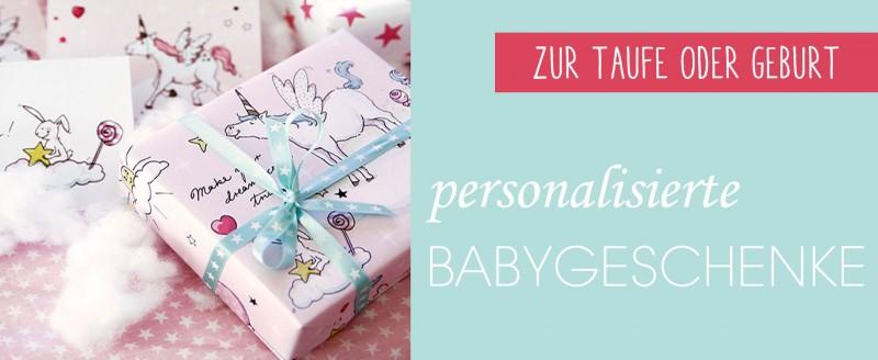 personalisierte babygeschenke kaufen ber 1000 geschenke entdecken baby and friends. Black Bedroom Furniture Sets. Home Design Ideas