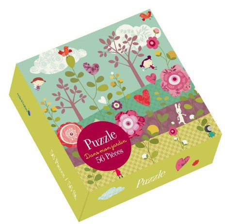 "Minilabo - Puzzle ""Dans mon Jardin"""