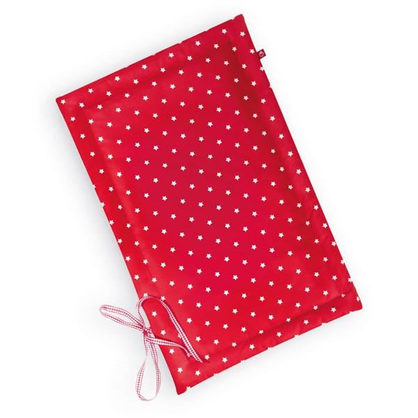 La Fraise Rouge - Wickelunterlage Sterne rot