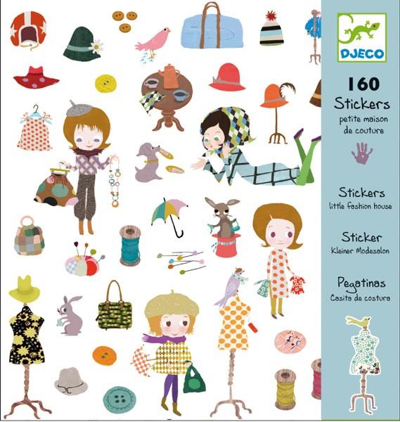 Djeco - Aufkleber Mode