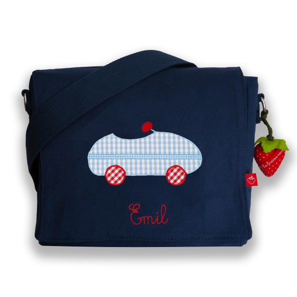 Kindergartentasche Auto mit Namen
