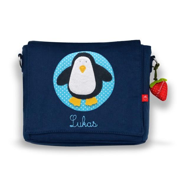 Kindergartentasche Pinguin mit Namen