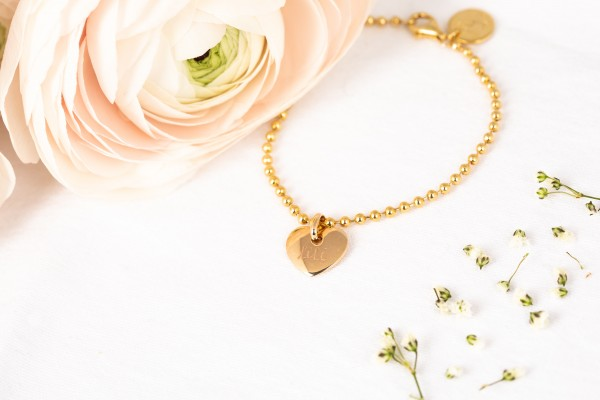 Pelina Bijoux Armband Kugelkette gold