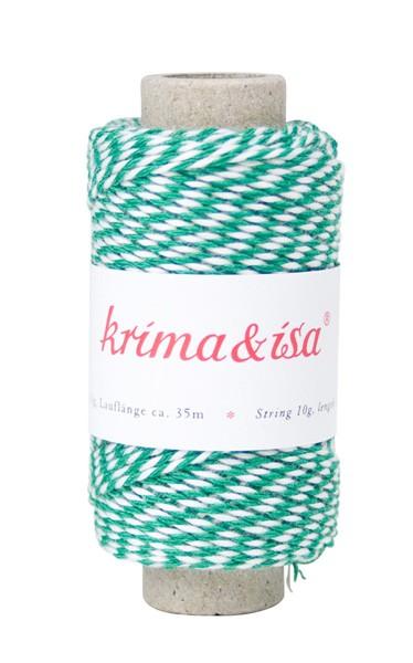 Krima & Isa - Garn grün mini