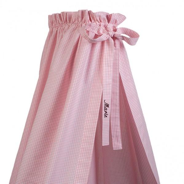 lakaro - Betthimmel rosa mit Namen