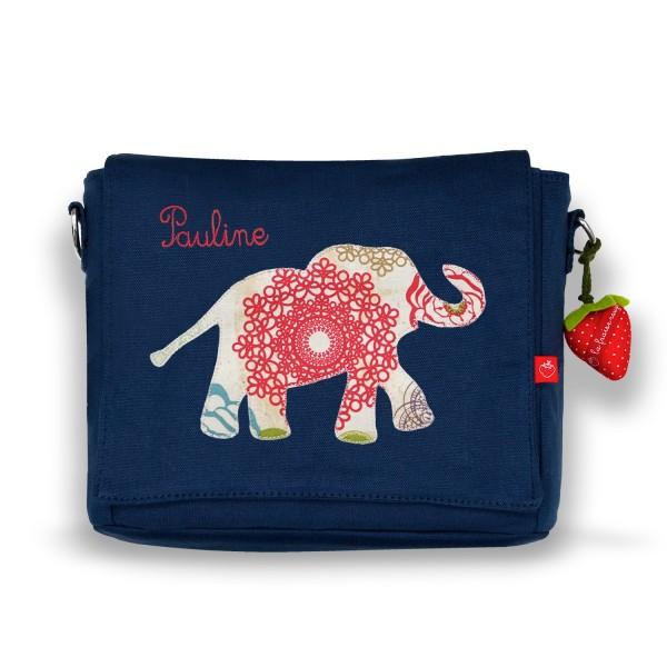 Kindergartentasche Elefant indisch mit Namen
