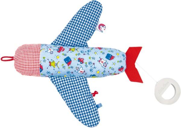 Käthe Kruse - Spieluhr Flugzeug Unterwegs