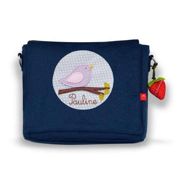 Kindergartentasche Vögelchen mit Namen