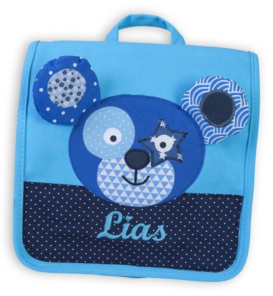 Kindergartentasche blau Bär Lias