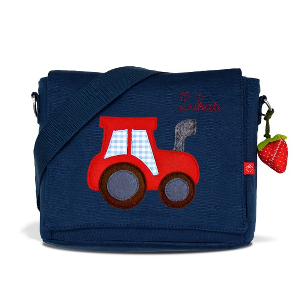 Kindergartentasche Traktor mit Namen