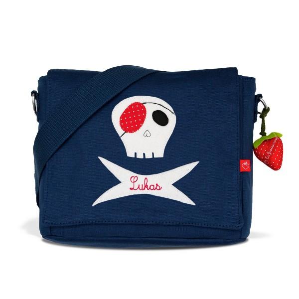 Kindergartentasche Pirat mit Namen