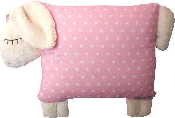 Bobeli - Schafkissen rosa Sterne