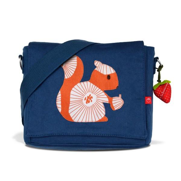 Kindergartentasche Eichhörnchen noisette