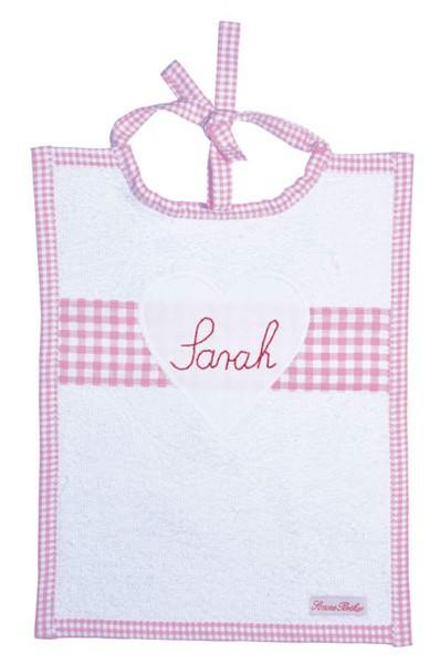 Lätzchen personalisiert rosa