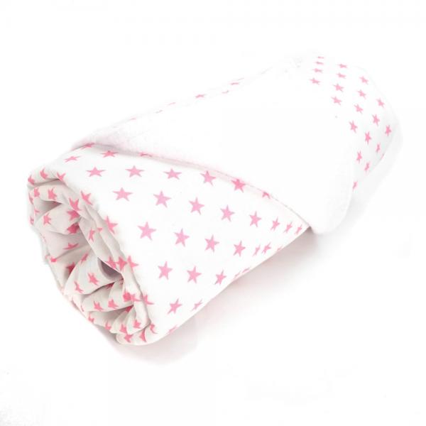 Sugarapple - Babydecke Sterne rosa