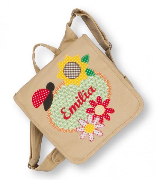 Kindergartentasche beige Emilia Käfer