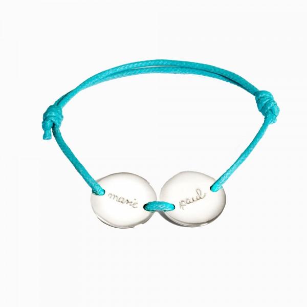 Pelina Bijoux Armband 2 Medaillon in between