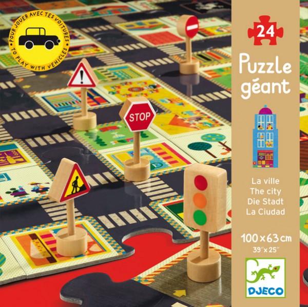 Djeco - Großes Puzzle Die Stadt