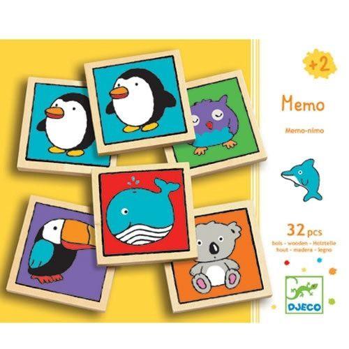 Djeco - Memo Tiere Memo - Nimo