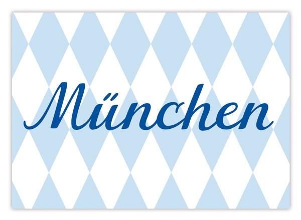 Krima & Isa - Postkarte München