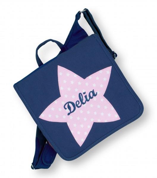 Kindergartentasche dunkelblau Delia Stern