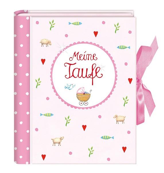 Kleines Einsteckalbum - Meine Taufe rosa