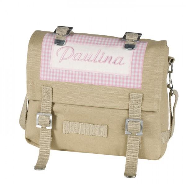 lakaro - Kindergartentasche rosa mit Namen