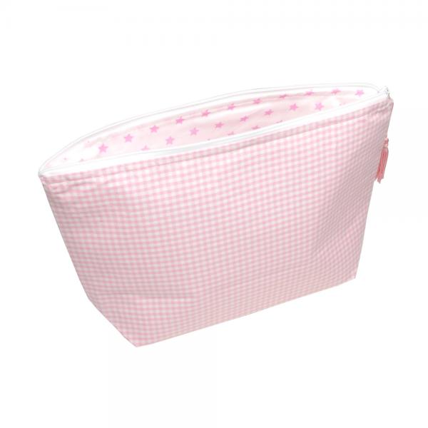 Sugarapple - Windeltasche Karo rosa