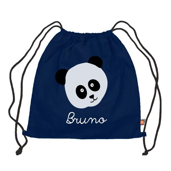 Holubolu Turnbeutel Pandabär mit Namen