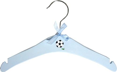 Herzenswunsch - Kleiderbügel Fußball