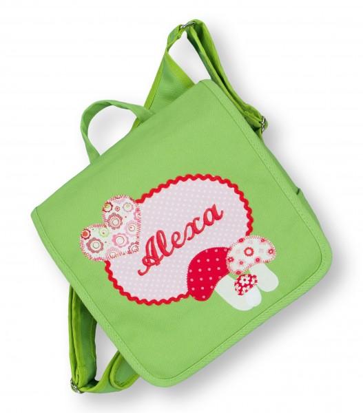 Kindergartentasche grün Alexa Pilz