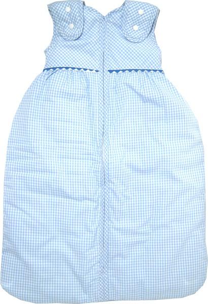 Le Petit Beurre - Babyschlafsack Vichy hellblau