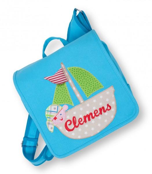 Kindergartentasche türkis Clemens Boot