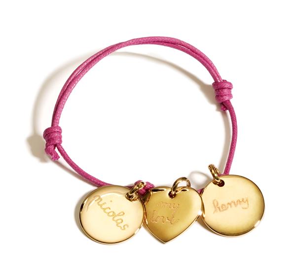 Pelina Bijoux Armband 3 Medaillon