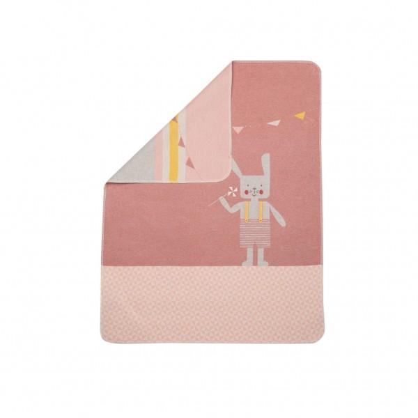 David Fussenegger - Babydecke Hase rosa