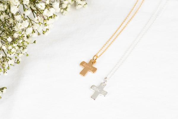Pelina Bijoux Halskette mit Kreuz