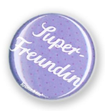Krima & Isa - Button Super Freundin