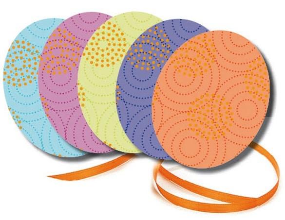 Die Papermaker - Osteranhänger Eier