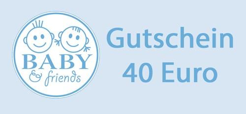 40 Euro Geschenkgutschein